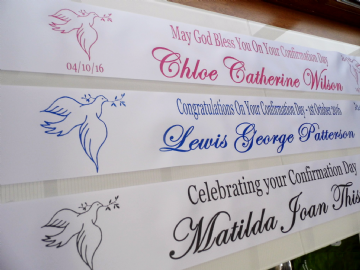 Confirmation Banner Personalised